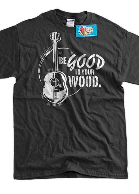 Jaket Sweater Rock Guitar guitar band t shirt be to your wood shirt t shirt