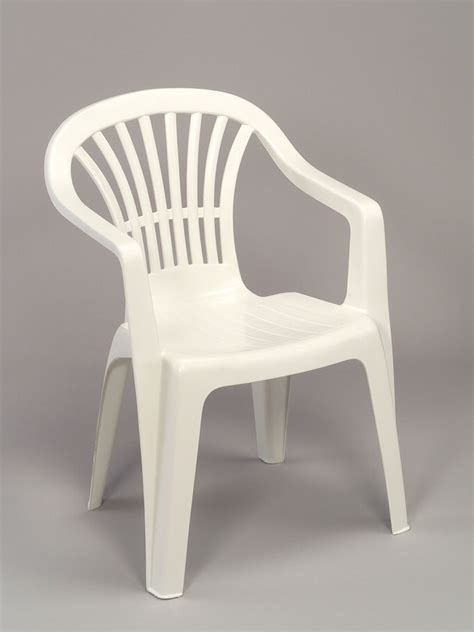 chaise jardin plastique stunning chaise de jardin grosfillex blanc images