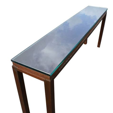 6 Foot Sofa Table by Midcentury Retro Style Modern Architectural Vintage