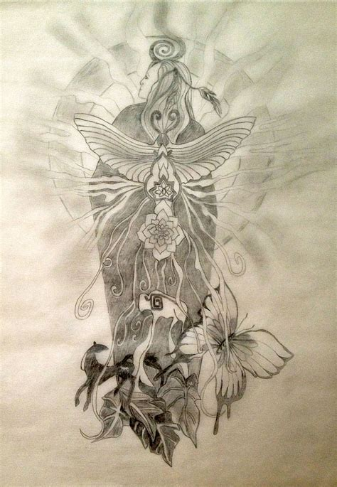 native american design tattoos moth symbolism tania s