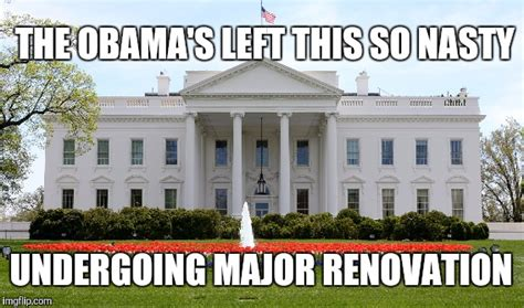 trump s vacation and white house renovations one news page video why donald trump s white house must be renovated imgflip