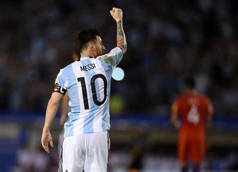 Argentina Lolos Piala Dunia Jika Argentina Gagal Lolos Piala Dunia 2018 Messi Akan