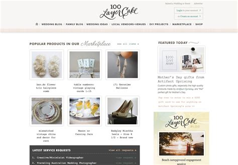 custom layout in wordpress 100 layer cake lifestyle blog wordpress custom design