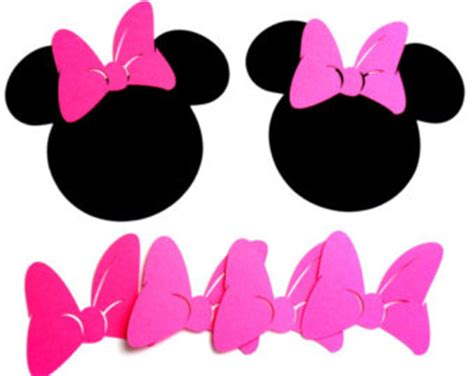 minnie mouse bow cut clipart panda free clipart images