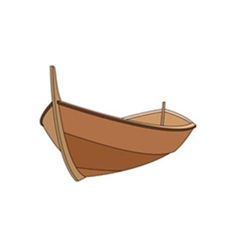 wood boat vector a wooden boat royalty free vector image vectorstock