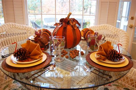 round table decorations thanksgiving tablescape for the kids