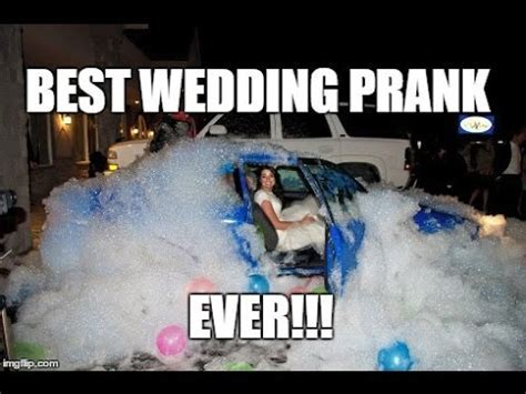Best Wedding Car Prank Ever!   YouTube