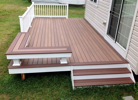 picture frame deck deck traditional with composite decking metal fire bowls and pits