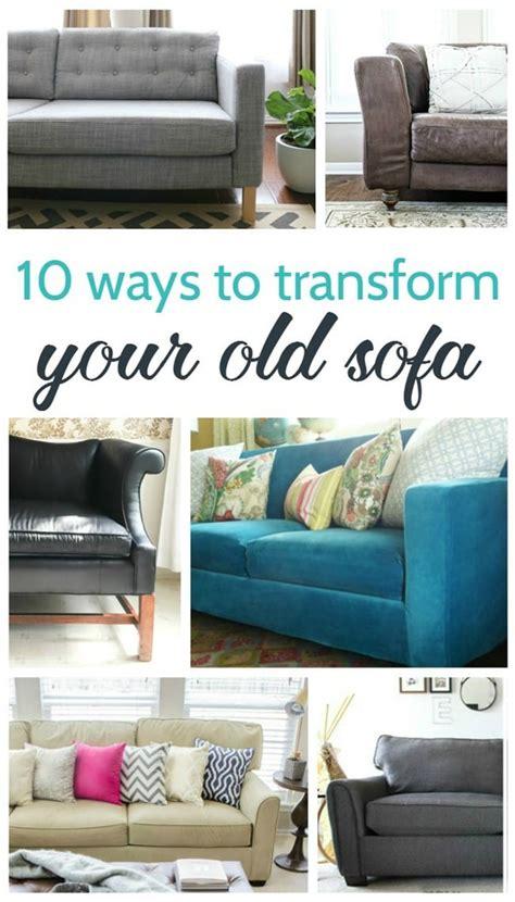 ways  transform   sofa lovely