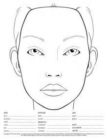 modelli di face chart il biglietto da visita della