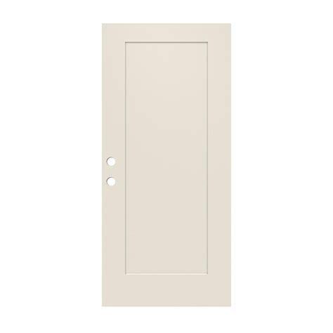 36 X 79 Exterior Door Jeld Wen 36 In X 79 In 1 Panel Craftsman Primed Steel Front Door Slab Thdjw166100396 The