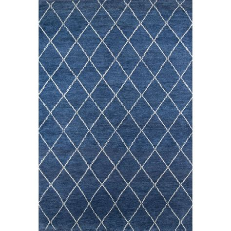 10 ft wool rug momeni atlas atl 5 navy 10 ft x 14 ft knotted wool