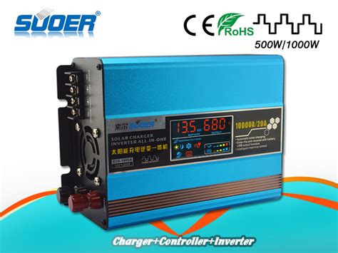 Suoer Power Inverter 500 Watt Solar Controller Charger Sus 500 A inverter charge controller reviews shopping inverter charge controller reviews on