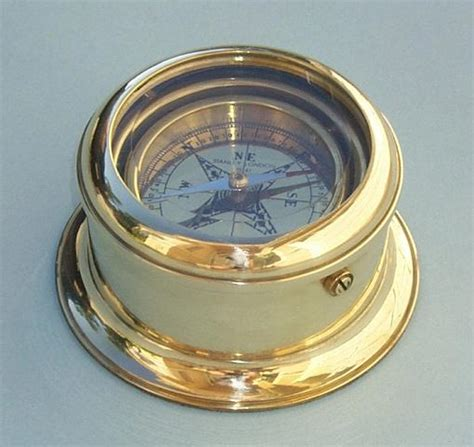 sextant compass the antique sextant stanley london 174 round gimbaled brass