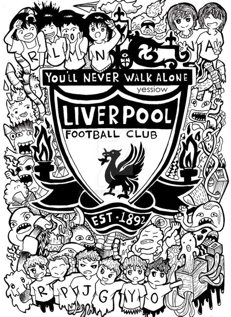 uk doodle club forum doodle liverpool fc by yessiow on deviantart