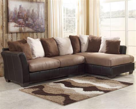 Masoli Mocha Sectional Sofa Set Signature Design By Ashley Mocha Sectional Sofa