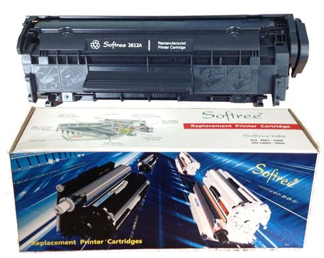 Toner Q2612a softree 12a black toner cartridge replaces hp 12a q2612a