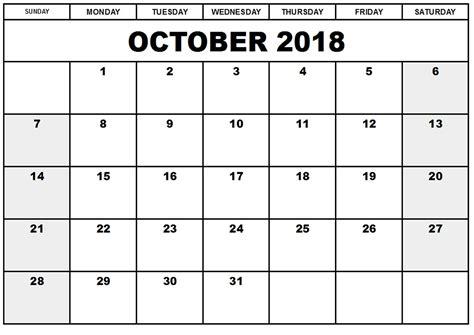 printable calendar october 2018 printable calendar october 2018 pdf larissanaestrada com