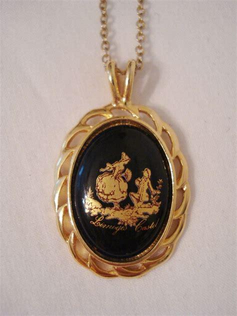 metal pendants for jewelry vintage castel limoges porcelain pendant gold