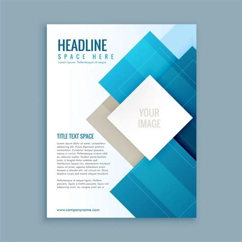 business brochure templates modern business brochure template vector free
