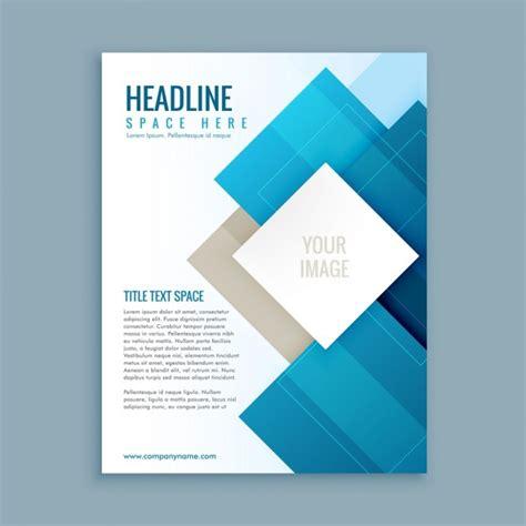 Modern business brochure template Vector   Free Download