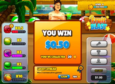 Money Winning Games - casino skill game fruit blast