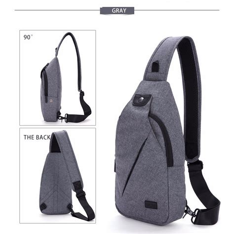 Tas Selempang Sling Bag Pickyourdenim Portand Grey tinyat tas selempang sling bag t609 gray jakartanotebook