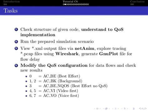 wireshark latency tutorial dccn 2016 tutorial 3 qos for d2d