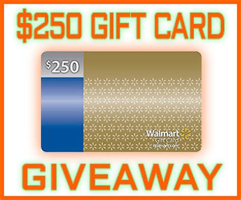 Free 250 Walmart Gift Card - win free sweepstakes contests freebies