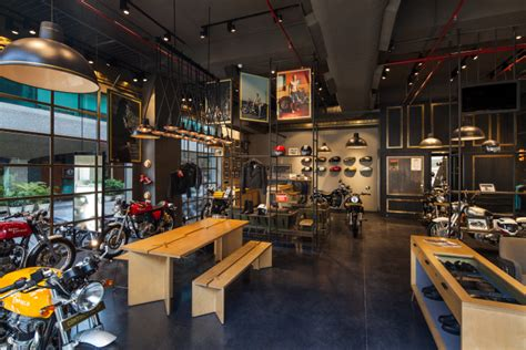 royal enfield store by lotus new delhi india 187 retail