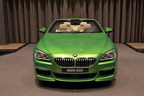 java green bmw bmw 6 series convertible in java green