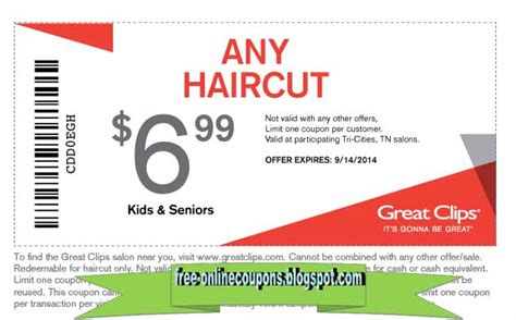 utah readers 6 99 haircut at great clips freebies2deals great clips coupons valpak 2017