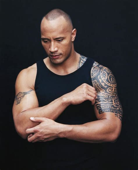 dwayne quot the rock quot johnson train body and mind