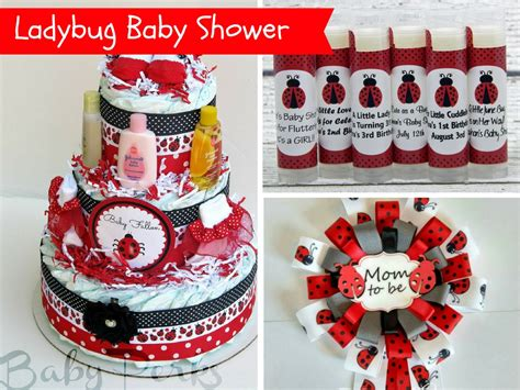 Ladybug Baby Shower by Ladybug Baby Shower Decorations And Favors Baby