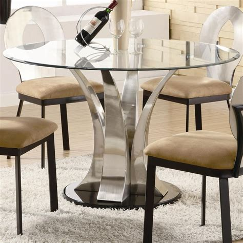 glass pedestal dining table best 25 glass top dining table ideas on glass