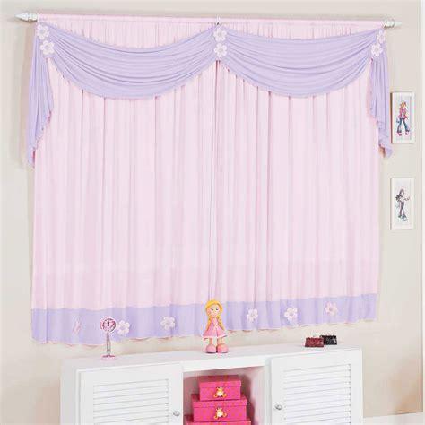 cortinas para estanterias 2 cortina rosa e lilas para quarto de menina 02 metros
