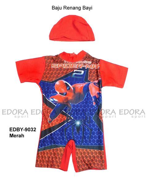 Baju Renang Bayi Murah Karakter Merah baju renang bayi edby 9032 merah distributor dan toko jual baju renang celana alat selam