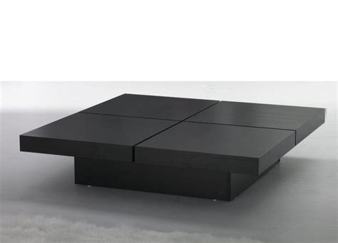 square glass coffee table contemporary