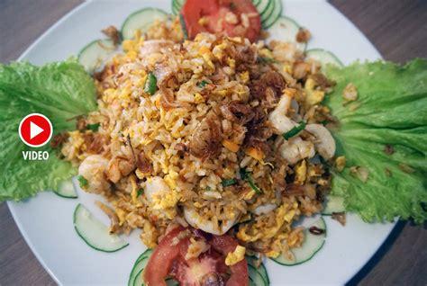 cara membuat nasi goreng xo video nasi goreng xo seafood ala hungry panda kabari news