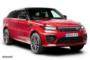 new range rover coupe to gun for the bmw x6 in 2018 auto