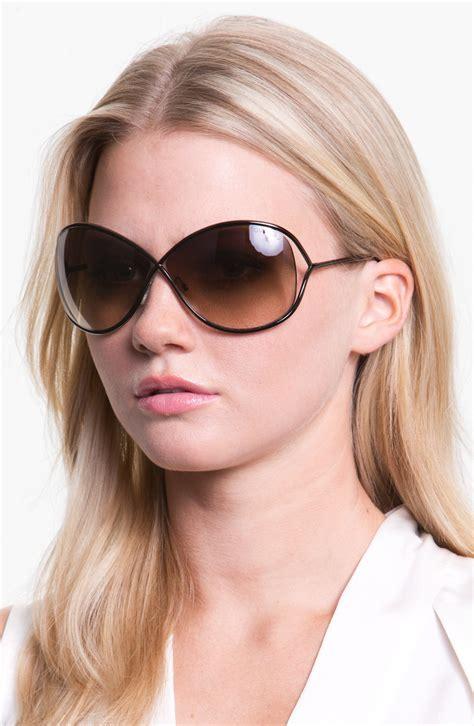 tom ford miranda sunglasses tom ford miranda 68mm open temple metal sunglasses
