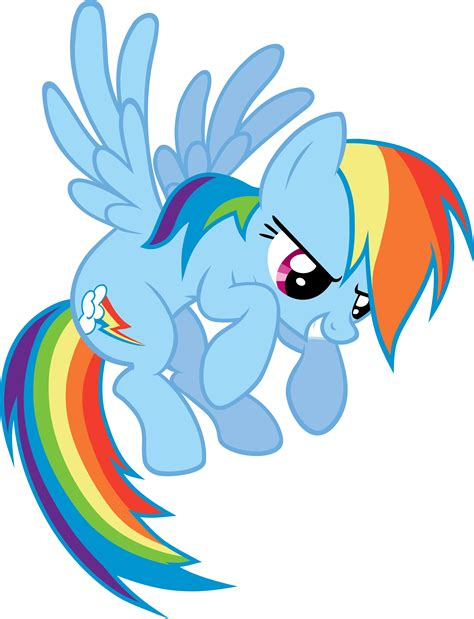 my little pony rainbow dash flying rainbow dash flying vector by scrimpeh on deviantart