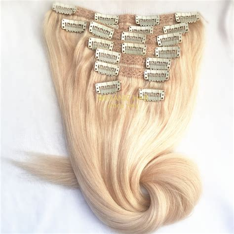 colored hair extensions clip in colored clip in hair extensions china oem colored clip
