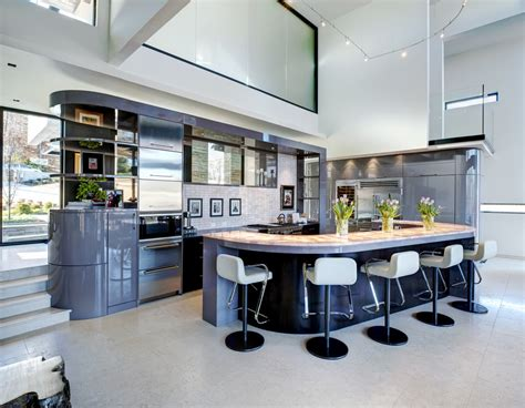 fabulous curved kitchen islands   steal  show