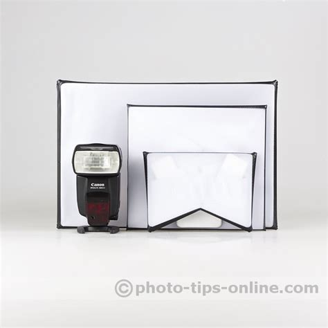 Lu Softbox lumiquest softbox ltp flash diffuser compared to