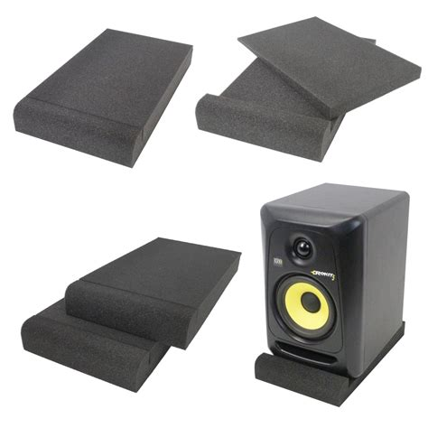 Alctron Epp07 Speaker Isolation Pad gorilla studio up to 6 quot monitor speaker isolation pad getinthemix