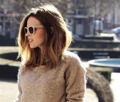 best lob hairstyles for thick hair best 25 thick hair ideas on pinterest