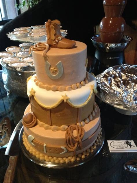 western theme grooms cake cakecentral