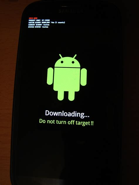 android message not downloaded rooting galaxy s3 stuck on screeen android enthusiasts stack exchange