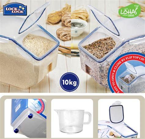 Rice Cooker Lock Lock lock lock rice container 10kg momorice store